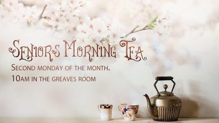 Seniors Morning Tea  logo image