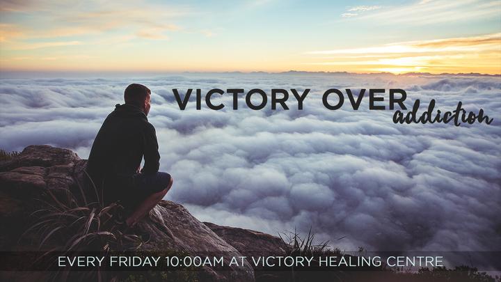 Victory Over Addiction  logo image
