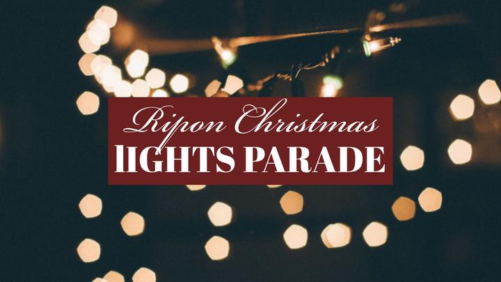 Ripon: Main Street Lights Parade logo image