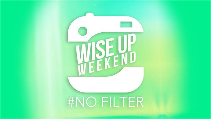 Wise Up Weekend 2020 | #No Filter logo image