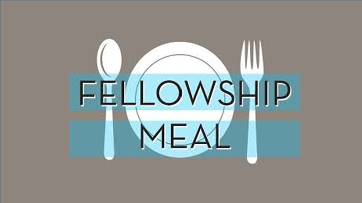 Monthly Fellowship Meal logo image