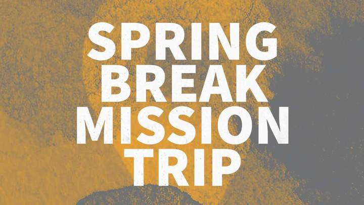 Spring Break Mission Trip logo image