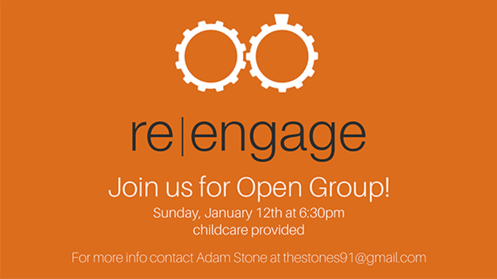 re|engage Open Group  logo image