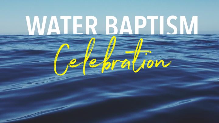 Water Baptism Celebration logo image