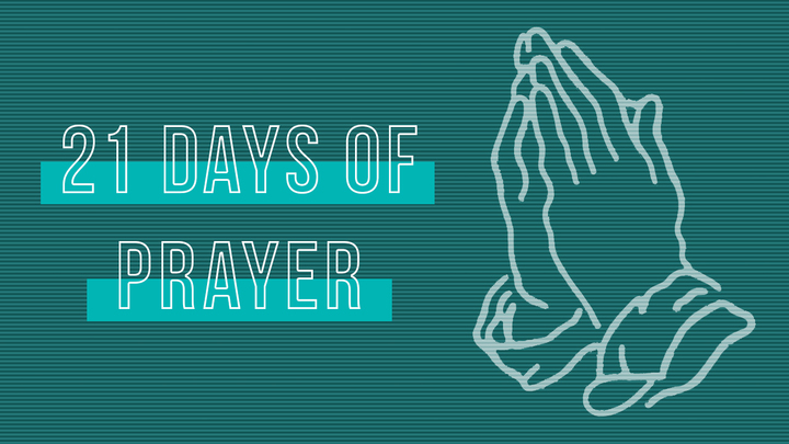 21 Days of Prayer | Prayer & Fasting Sign Up logo image
