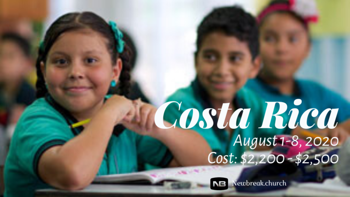 Costa Rica Missions Trip logo image