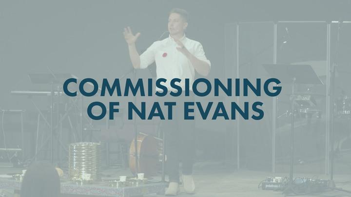 Commissioning of Nat Evans logo image