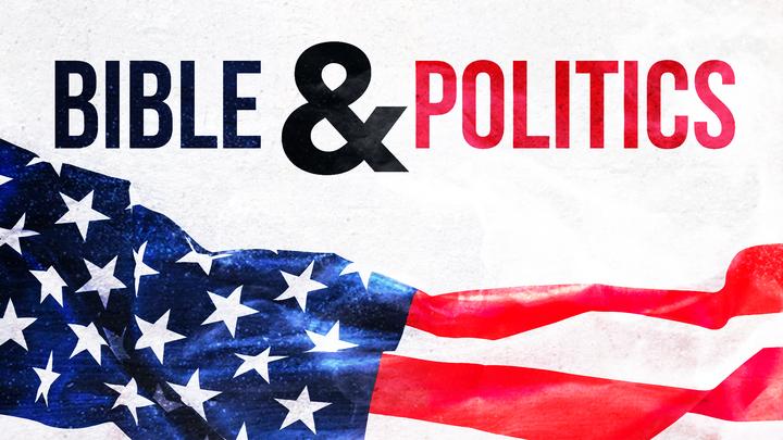 the Bible and Politics logo image