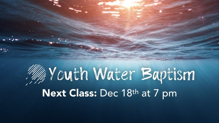 Youth Water Baptism Class logo image