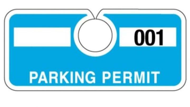 2020 Parking Pass logo image