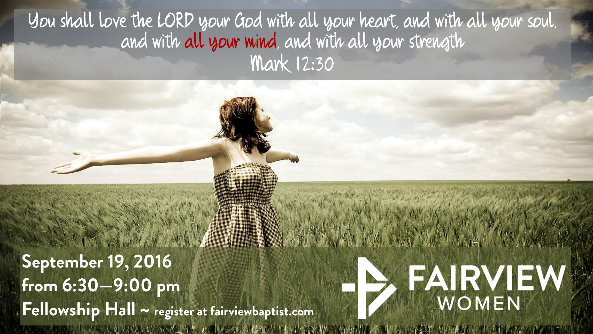 Womens ministry september 19
