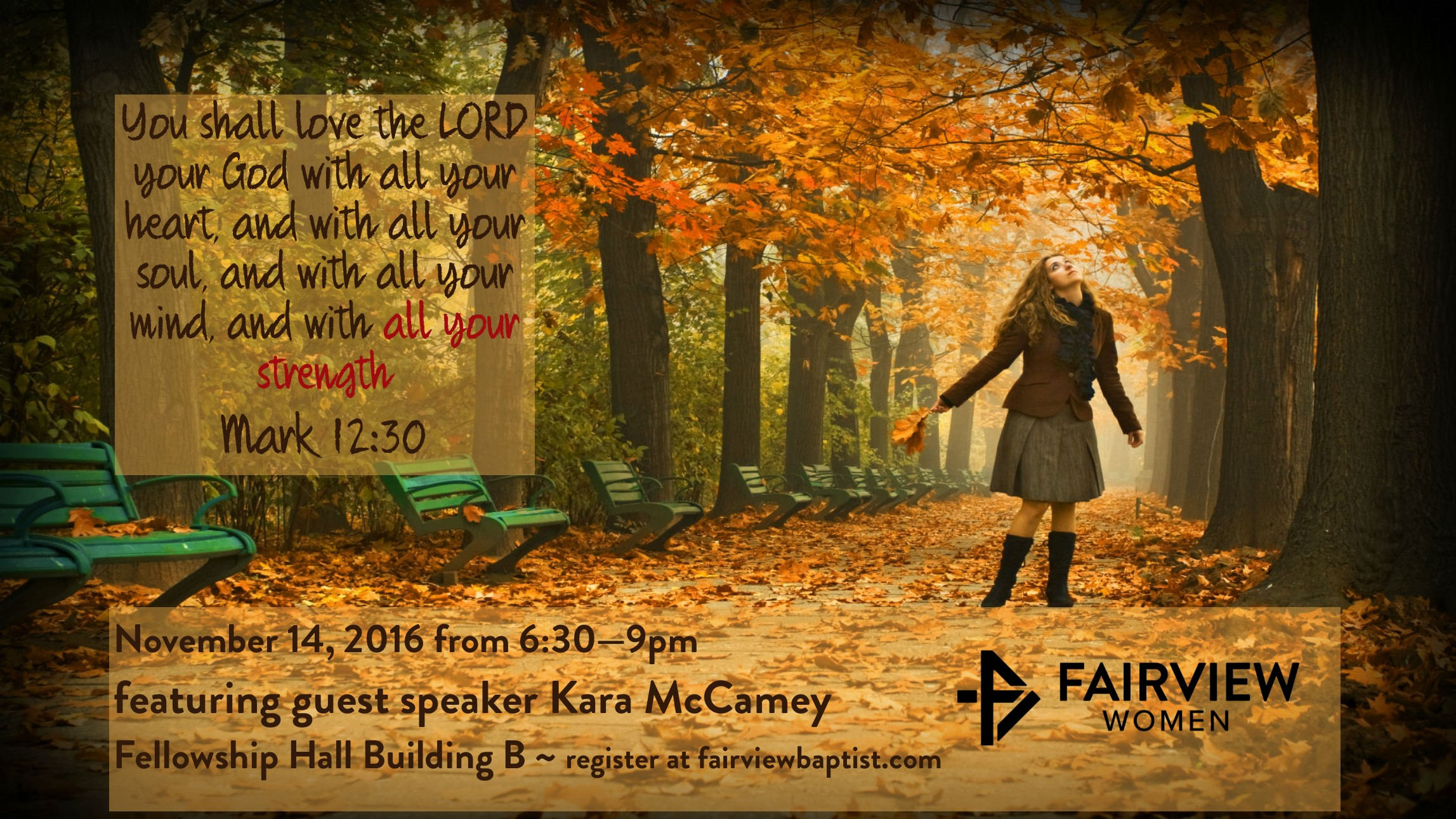 Womens ministry november event