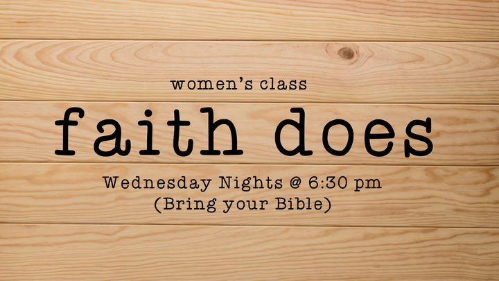 Faith Does - Women (Rialto Campus) FAMILY NIGHT logo image