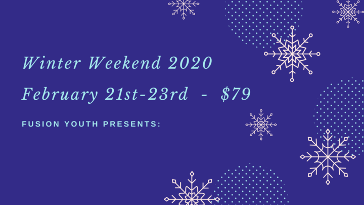 Fusion Youth Winter Weekend 2020 logo image