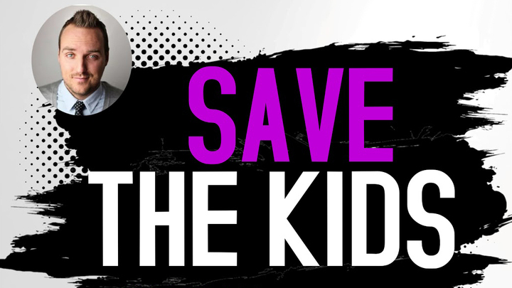 Save the Kids - Social Media and Screen Addiction logo image