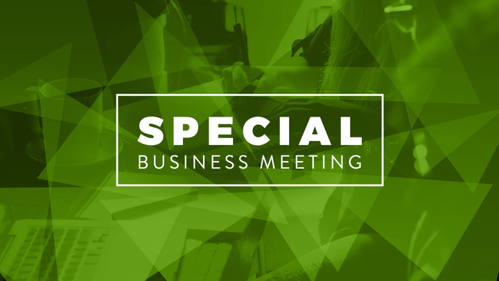 Special Business Meeting logo image