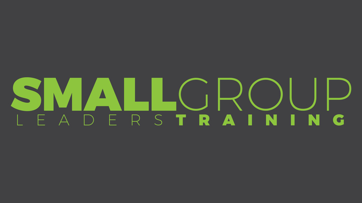 Small Group Leaders Trainings logo image
