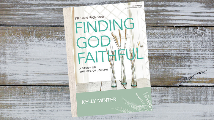 Finding God Faithful by Kelly Minter logo image