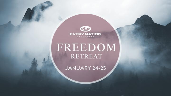 Freedom Retreat Registration logo image