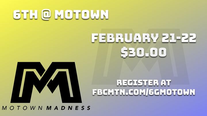 6th GRADE @ MOTOWN logo image