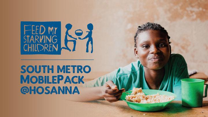 Feed My Starving Children   HOSANNA CHURCH logo image