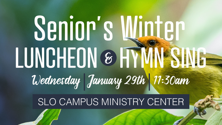 Senior's Winter Luncheon & Hymn Sing - January 29th 2020  logo image