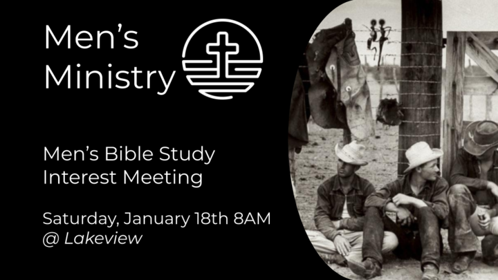 Men's Bible Study Interest Meeting logo image