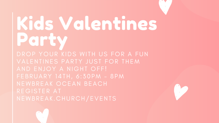 OB Kids Valentines Party logo image