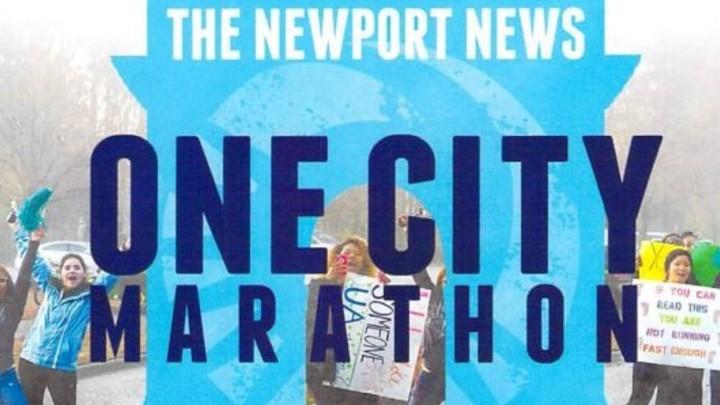 One City Marathon Volunteer Opportunity - 2020 logo image
