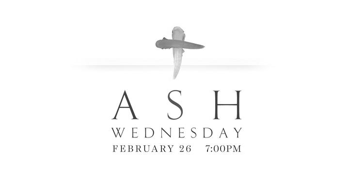 Ash Wednesday Night of Worship logo image