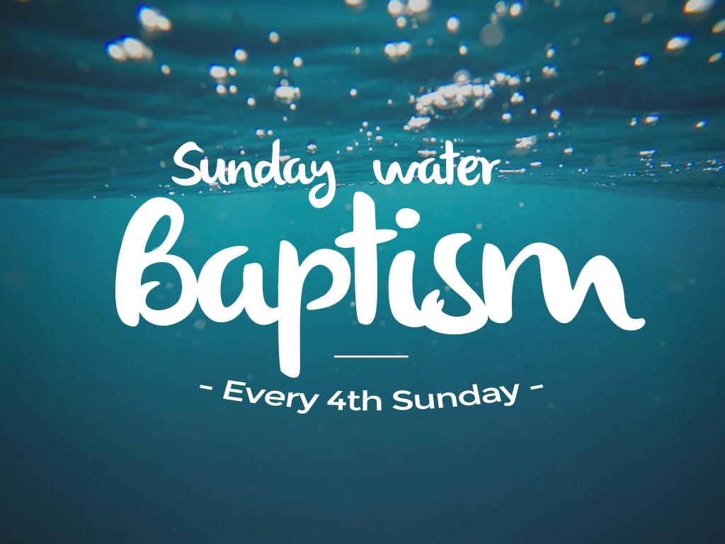 Baptism 4th sunday