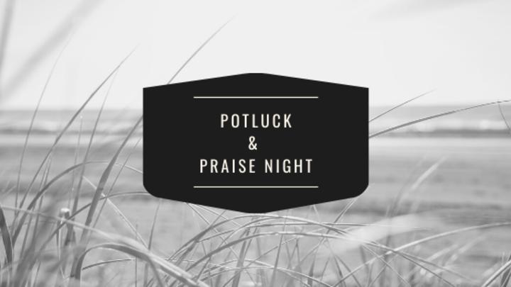 Potluck & Praise Night logo image