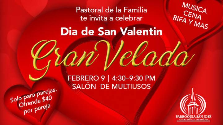 Dia de San Valentin Gran Velada logo image