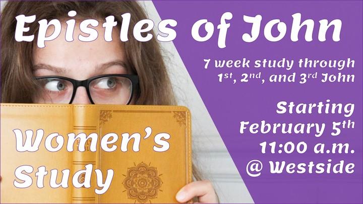 Epistles of John- Women's study logo image