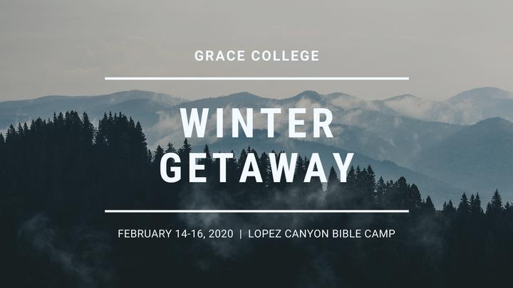 College Winter Getaway logo image