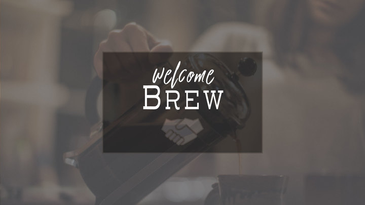 Welcome Brew logo image