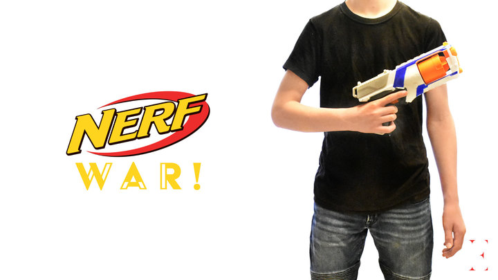 Nerf War logo image
