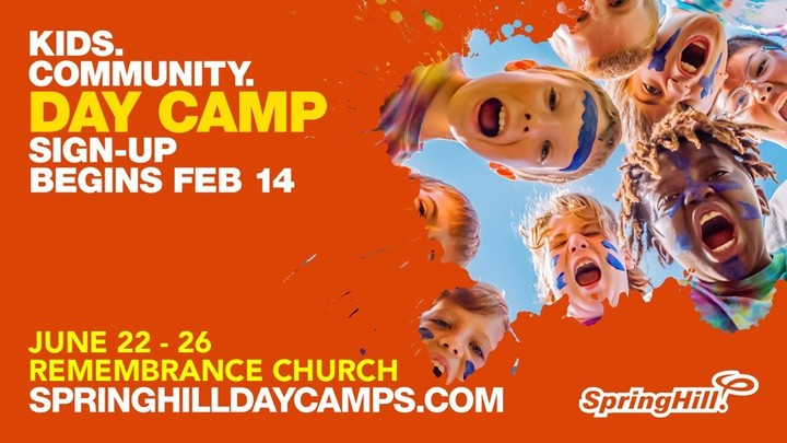 SpringHill Day Camp Sign-Up logo image