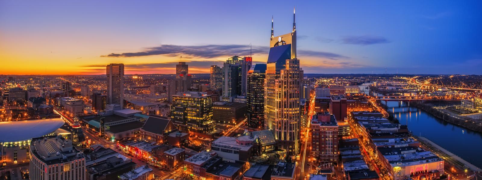 Nashville skyline 1