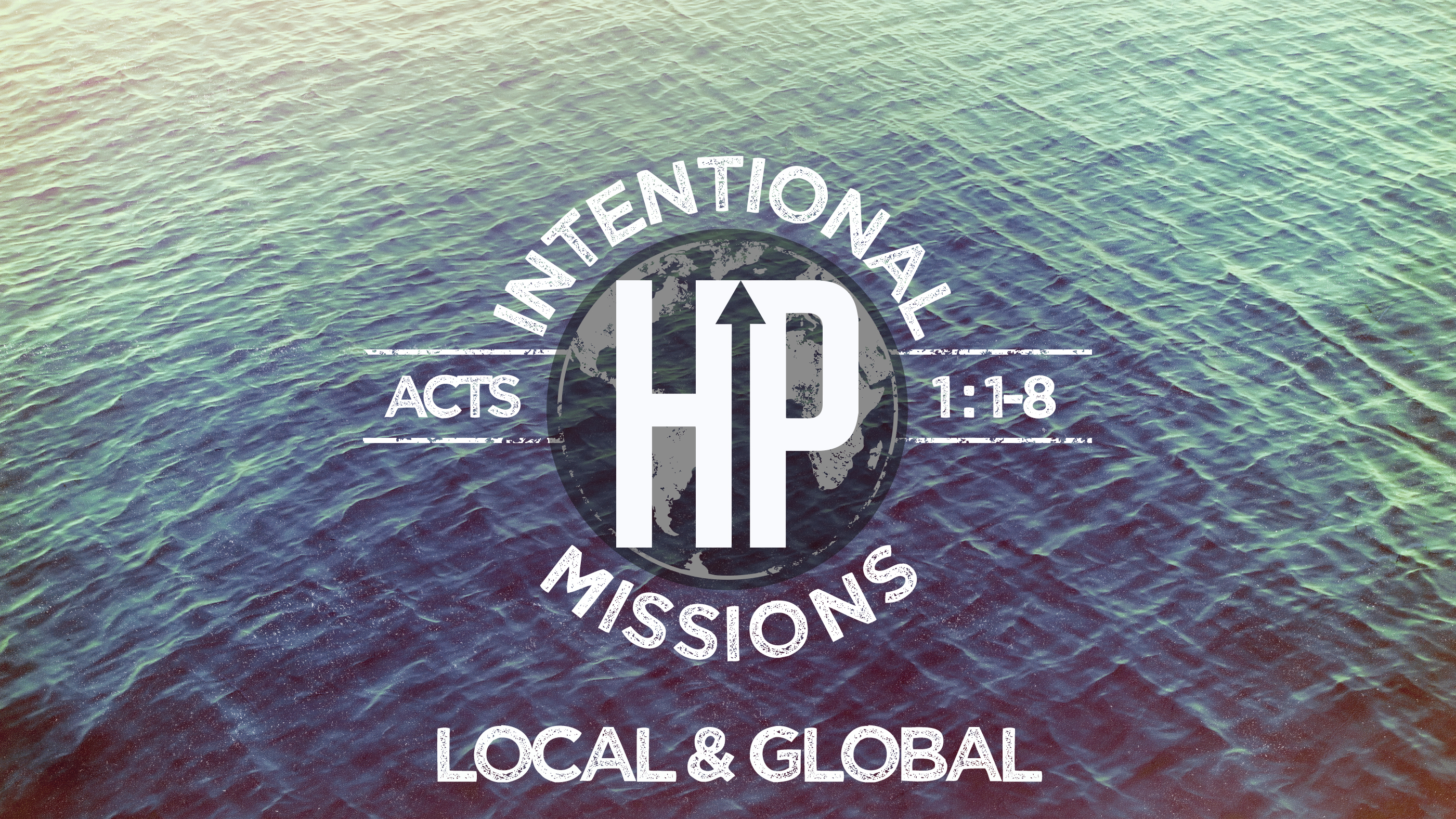 Intention mission weekend