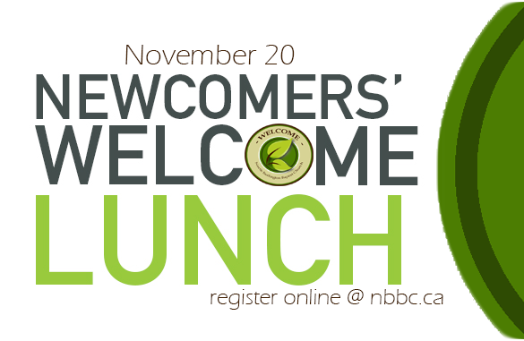 Newcomers lunch invite card