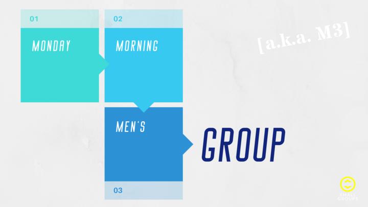 Monday Morning Men's Group [M3] logo image