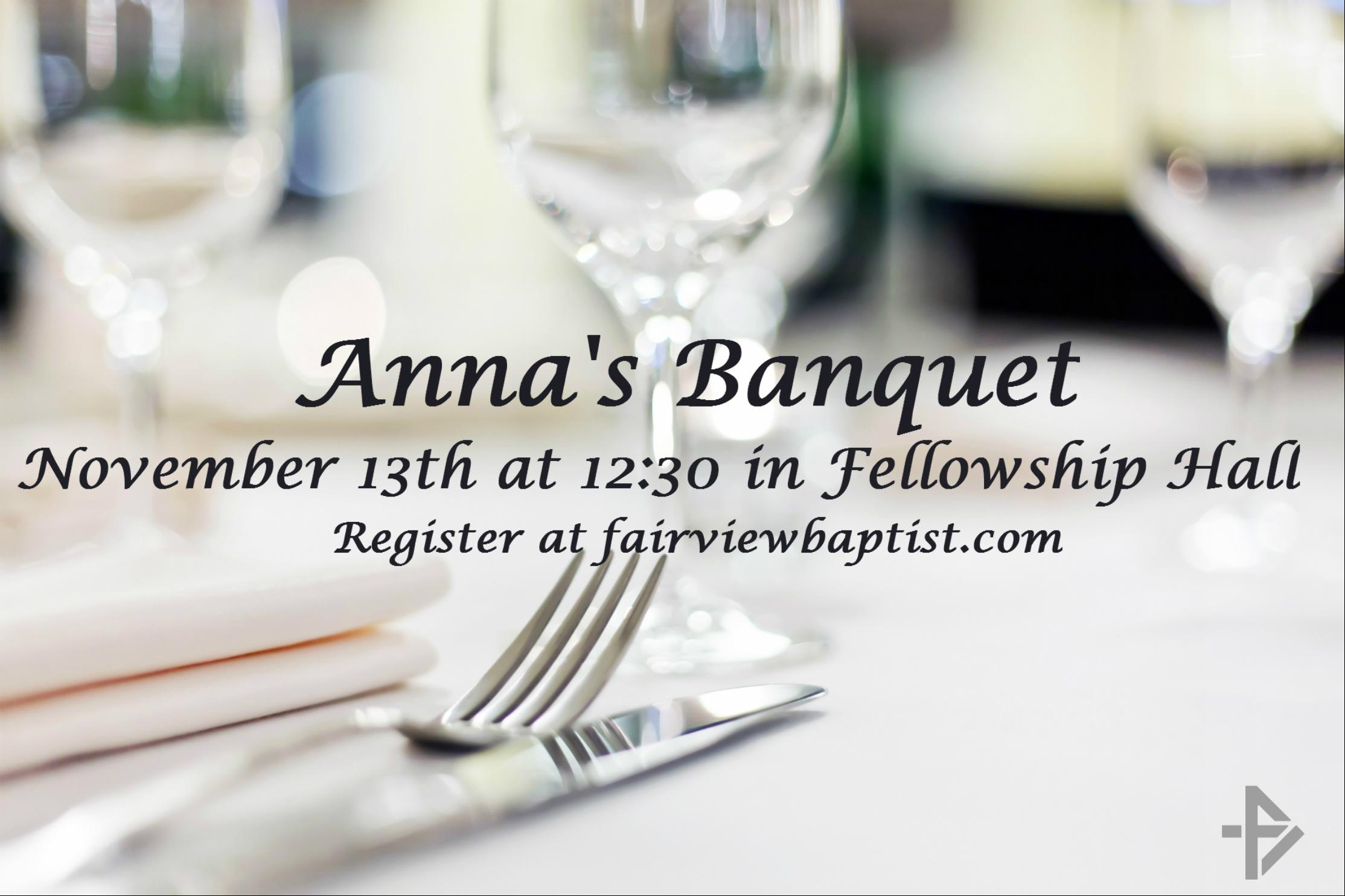 Anna s banquet slide