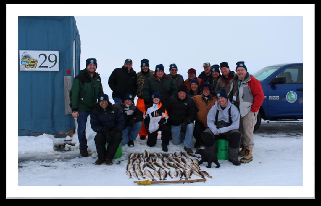 2016 ice fishing retreat