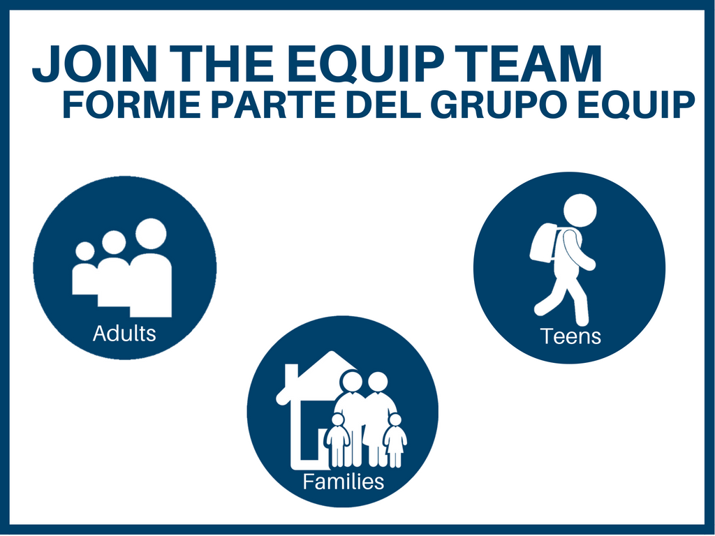 Equip volunteers