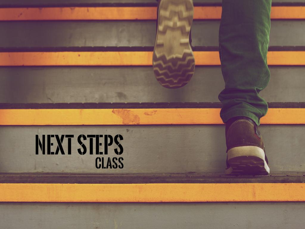 Next steps details