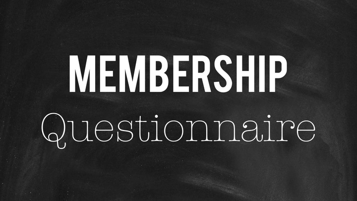 Membership Questionnaire logo image