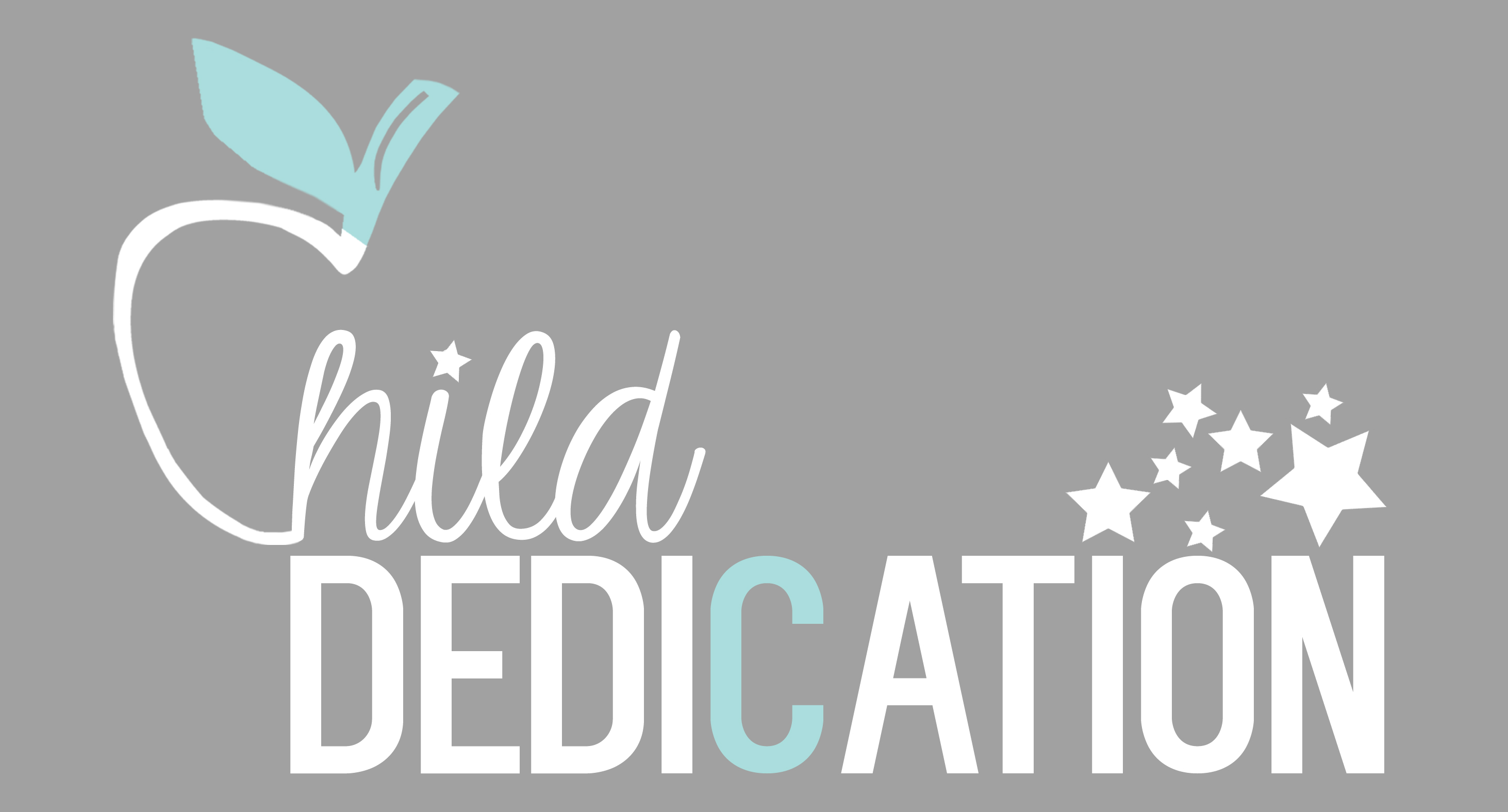 Child dedication logo
