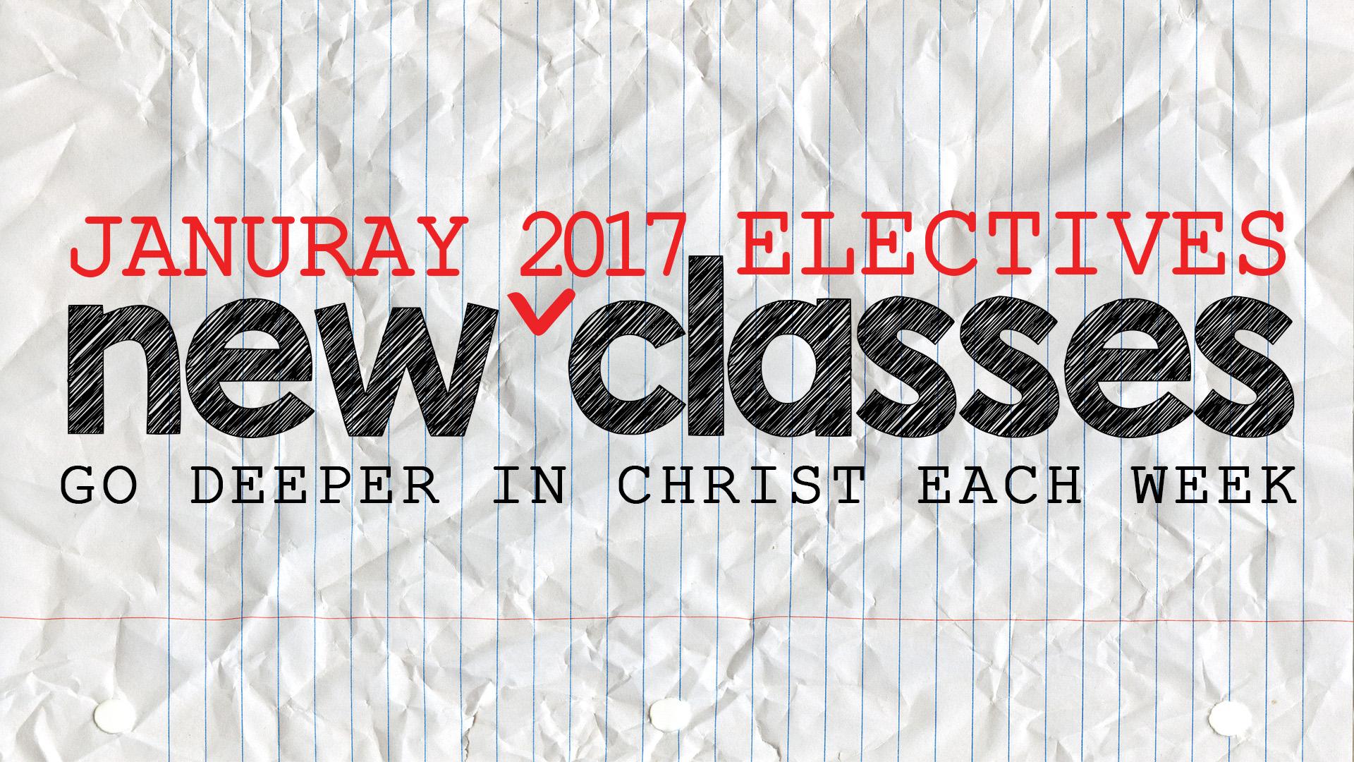 New classes registration