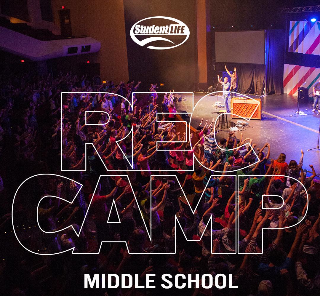 Rec camp flyer